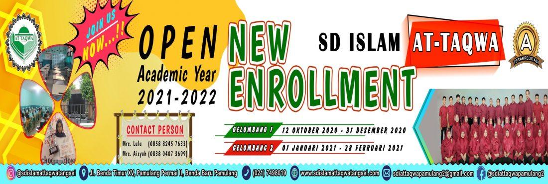 PPDB SD ISLAM AT TAQWA 2021/2022