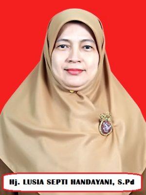 Hj.Lusia Septi Handayani, S.Pd