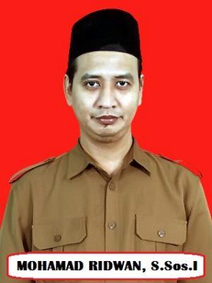 Mohamad Ridwan, S.Sos.I