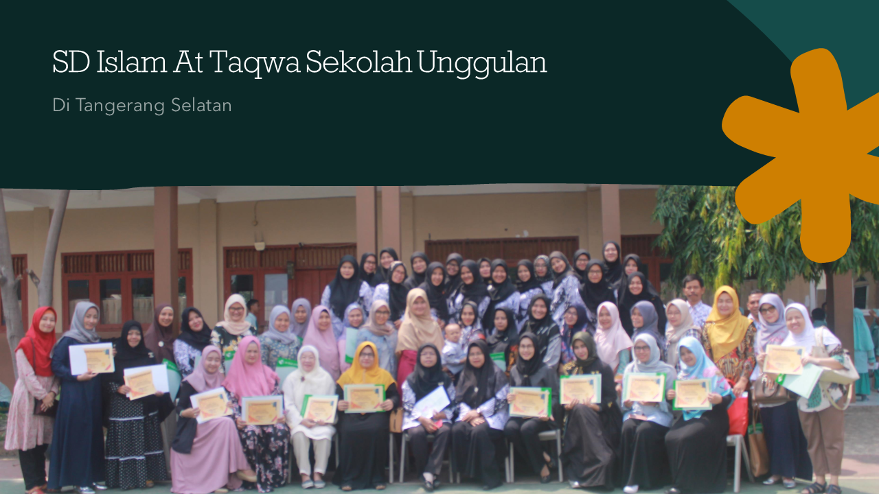 SDI At-Taqwa Sekolah Unggulan di Tangerang Selatan