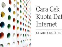 Cara Mudah Cek Kuota Data Internet Kemdikbud 2021