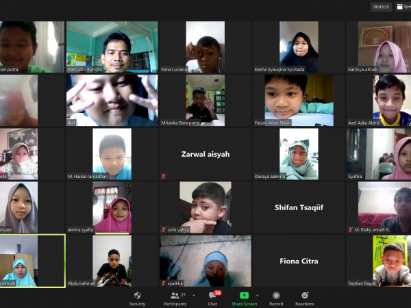 Persiapan Pembelajaran Tatap Muka SD Islam At Taqwa Pamulang